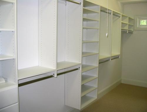 Melamine Closet System Home Decor